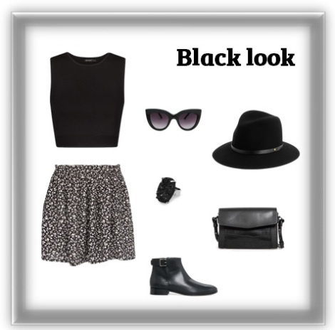 Black look