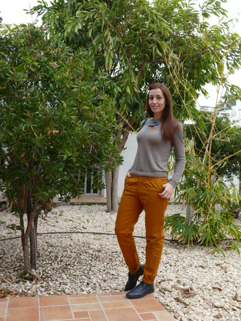 Pantalón Mostaza 1