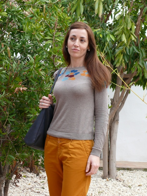 Pantalón Mostaza 3